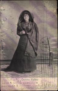 Maltese costume