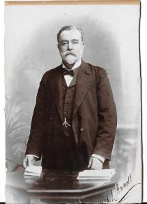 Alfred Lewis Annett, victorian gentleman, secretary, Licensed Victuallers' Asylum, London